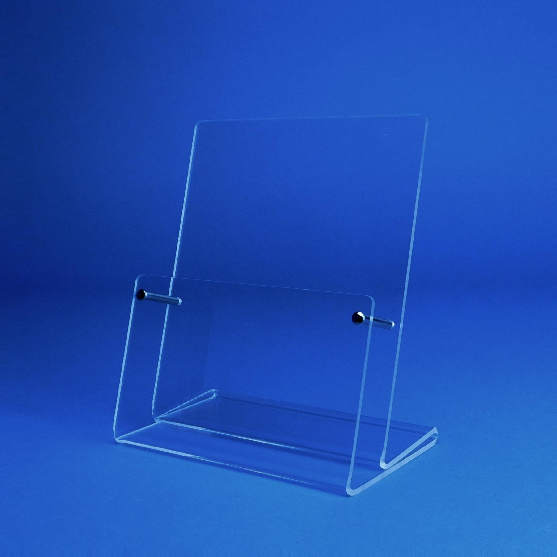 Tischprospektständer Für Visitenkarten Im Hochformat Fülltiefe 23mm