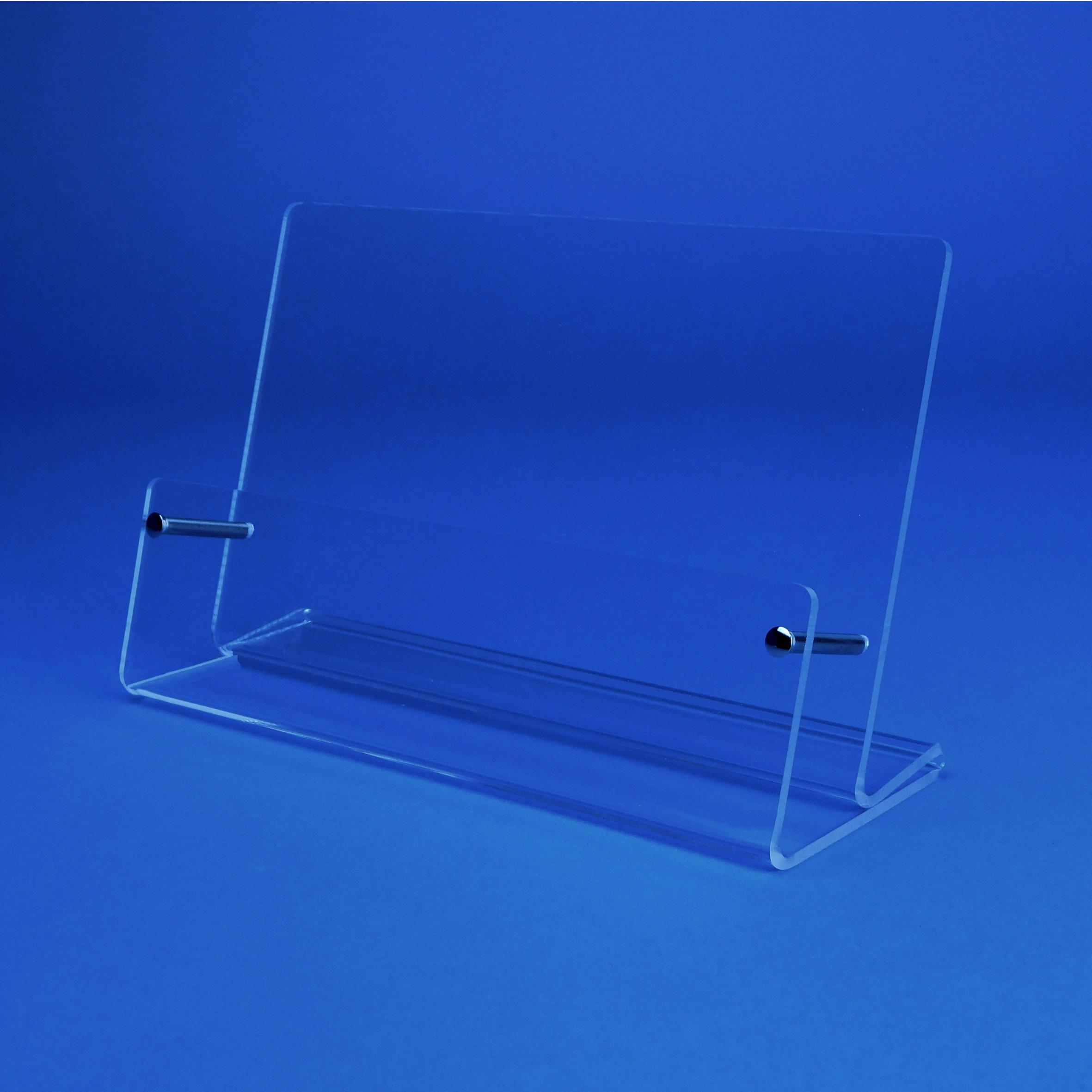 Tischprospektständer Für Visitenkarten Im Querformat Fülltiefe 23mm